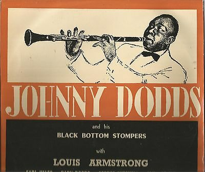 "Vogue Coral 10"" Lp* Johnny Dodds & His Black Bottom Stompers*louis Armstrong"