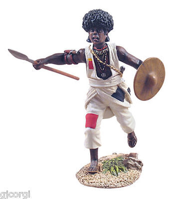 BRITAINS Soldiers 27004 War along the Nile Mahdist Charging with Spear No.1