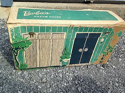 RARE Vintage 1962 BARBIE FAMILY DOLL HOUSE with Furniture and more