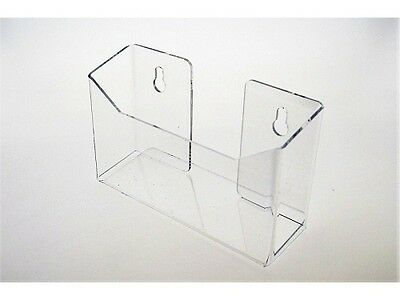 "6.5""w Clear Acrylic Postcard Holder Wall or Table Top /Display Stand - Clear"