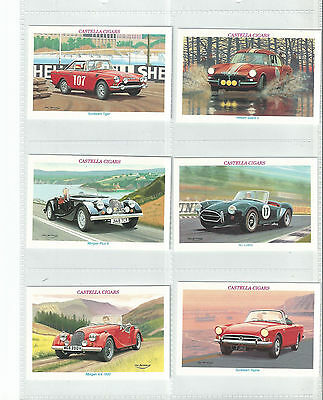 Exc Wills (Castella) 1996 Set 30.....classic Sports Cars Cat £36.00