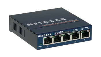 Image result for Netgear 5 Port 10/100 /1000 Gigabit Switch