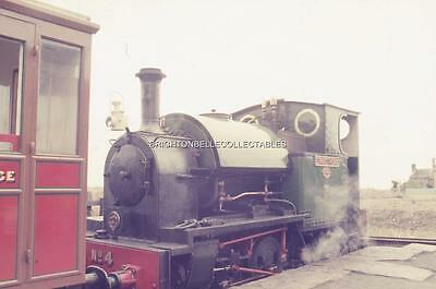 1972 TALYLLYN NARROW GAUGE RAILWAY WALES ORIGINAL 35mm PHOTO SLIDE #9