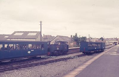 1972 VALE OF RHEIDOL RAILWAY ABERYSTWYTH ORIGINAL 35mm PHOTO SLIDE #9
