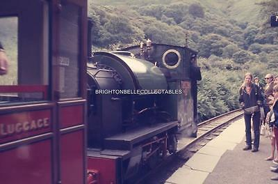 1972 TALYLLYN NARROW GAUGE RAILWAY WALES ORIGINAL 35mm PHOTO SLIDE #4