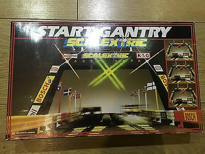 SCALEXTRIC RARE c209 START LIGHT GANTRY BOXED WITH ACCESSORIES EXC COND