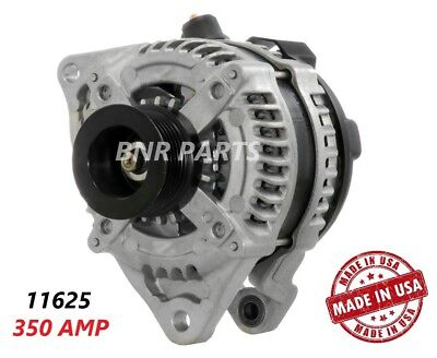 350 AMP 11625 Alternator Ford Mustang 5.0 High Output Performance HD Large Body