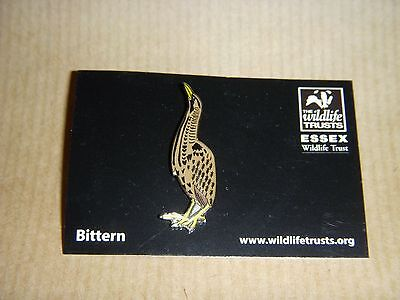 Bittern Bird Badge - Not Rspb - Wildlife Trust
