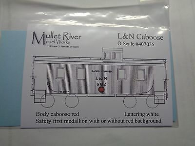 Mullet River O Scale #407035 L&N Decal Set