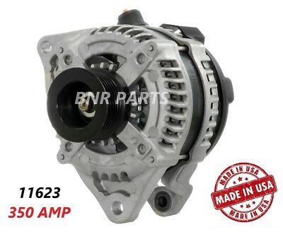 350 AMP 11623 Alternator Ford Mustang 3.7L A/T HIGH OUTPUT Performance HD USA