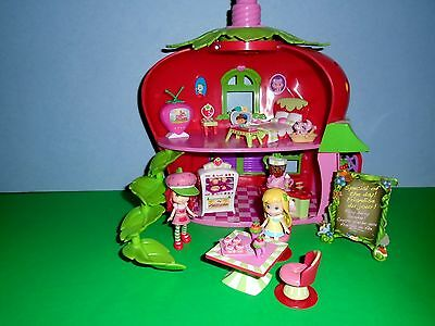 Ssc Strawberry Shortcake Bluebird Cafe With Furniture And Dolls