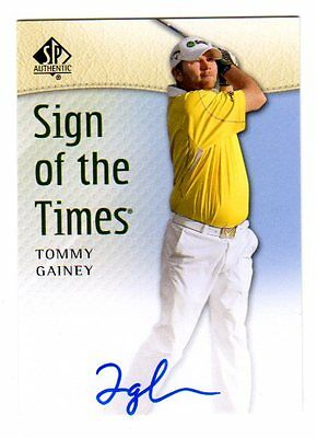 Tommy Gainey 2014 Sp Authentic Sign Of The Times (Autograph)