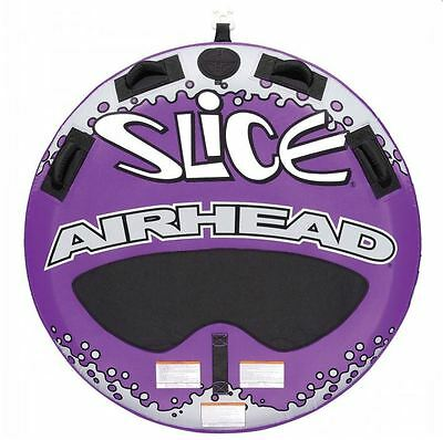 Airhead Slice Double Rider Inflatable Boat Lake Water Towable Tube | AHSL-4W