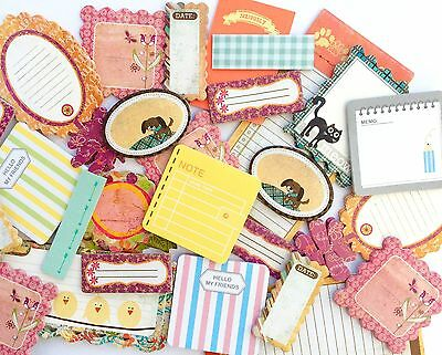 8 PCS Lot Of Cute Mini Memo Pads Sticky Notes Stationery Planning Scrapbooking