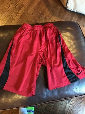 Boys Red Nike athletic shorts YS youth small