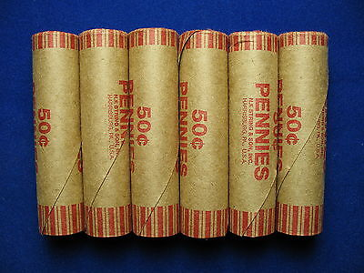 ~5 Lincoln Wheat Penny & Indian Cent Shotgun Rolls +1 Free Roll (Free Shipping)