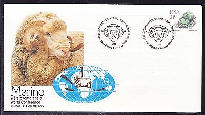 South Africa 1990 - Merino Sheep Conference.  Souvenir Cover - Unaddressed