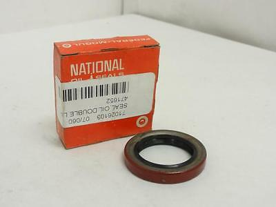 """149295 New In Box, National 471652 Oil Seal 1.125"""" ID 1.624"""" OD .250"""" Wide"""