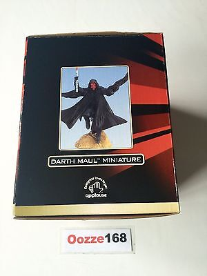 Star Wars Episode 1 First Addition DARTH MAUL Miniature Figure Collector Edition