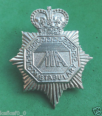 OBSOLETE NORTHERN IRELAND AIRPORTS CONSTABULARY CAP BADGE - police