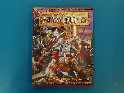 Warhammer Fantasy Roleplay 2nd Edition Rulebook - Excellent Condition - N/M
