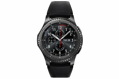 Samsung SM-R760 Gear S3 Frontier Bluetooth Smart Watch - Black/Space Grey A