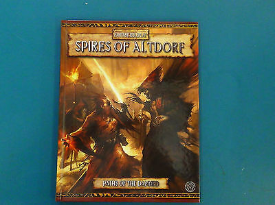 Spires of Altdorf - Warhammer Fantasy Roleplay 2nd Edition - Excellent Condition