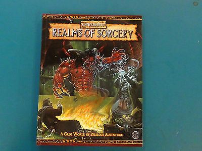 Realms of Sorcery - Warhammer Fantasy Roleplay 2nd Ed - Excellent Condition