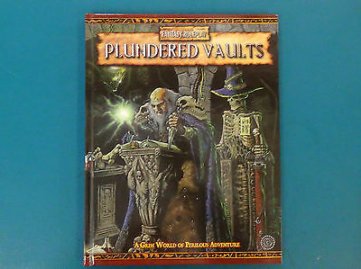 Plundered Vaults - Warhammer Fantasy Roleplay 2nd Ed - Excellent Condition
