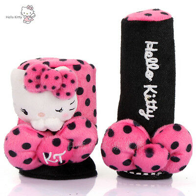 New Hello Kitty Cutesy Car Handbrake Gear Cover