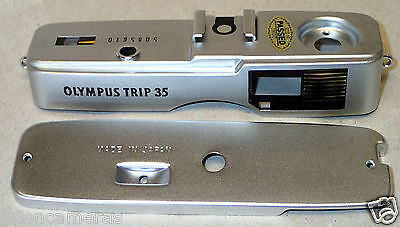 OLYMPUS Trip 35 Top Cover and Bottom Cover [USED]