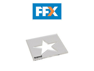 Trend TEMP/IN/STA Template Inlay Star