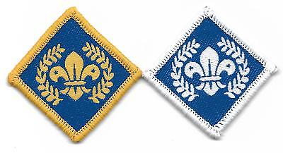Chief Scout Diamond And Platinum Award Cloth Scout Badges