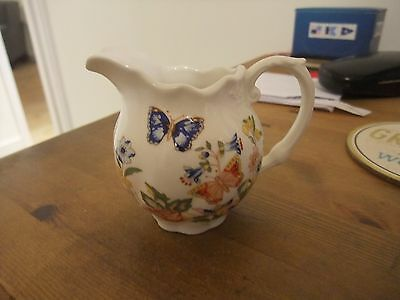 Beautiful Aynsley Small Jug In The Cottage Garden Pattern.