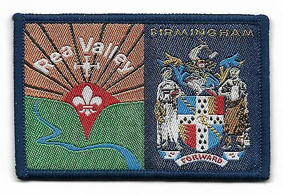 Rea Valley/birmingham Double District Scout Badge