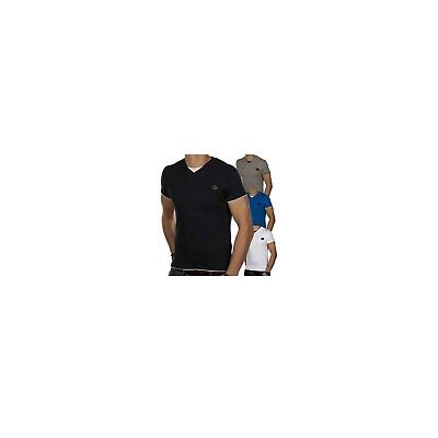 JACK & JONES jjcoBASTIAN Herren T-Shirt V-Neck Rundhals 2in1 Slim Fit 1202
