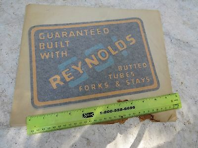 Reynolds 531  Large Iron On Transfer T Shirt Decal Road Racing Rare Vintage