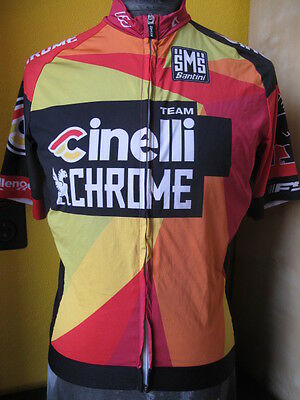 CINELLI CHROME SMS SANTINI  maillot cycliste CYCLING JERSEY LARGE