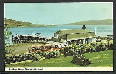 Postcard : Tighnabruaich the Kyles Kitchen at the Pier