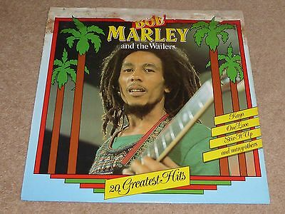 "Bob Marley And The Wailers ""20 Greatest Hits"" Vinyl Album ... Reggae / Ska"