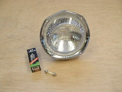 LAMBRETTA  SX-TV & LI Special   HEADLIGHT & BULBHOLDER -  BRAND NEW