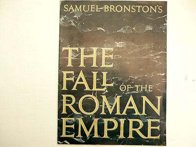 """""""The Fall of the ROMAN Empire""""...Film Programme...1964..."""