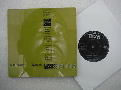 Big Bill Broonzy,Mississippi Blues Vol 2 - Southbound Train,EP 7""