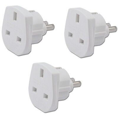 3 x UK to USA, JAPAN, MEXICO CANADA Power Adaptor Plug Converter Travel Adapter
