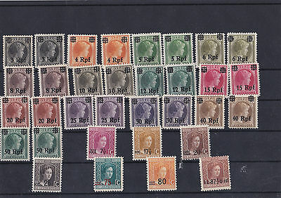 Good Lot Of Luxembourg Overprint Stamps And Some Shades In Mnh A Good Lot 26*