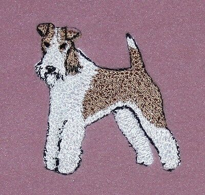 Wire Haired Fox Terrier Fleece Scarf – Embroidered Wft