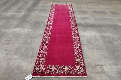 2'8X10'7 hand knotted tribal Persian Rug Vintage Woolen  Oriental Carpet  44