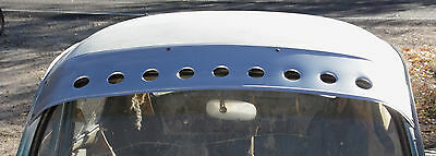 Stainless Sun Visor For Air Cooled Classic Volkswagen Beetle-Volksrod-Rat Rod