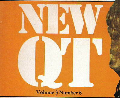 NEW QT:Vol.3 No.6,January 1977-Classic Russell Gay Mens' Glamour Magazine