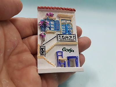 HOUSE IN CORFU Resin Fridge Magnet 3D Souvenir From CORFU GREECE - GIFT